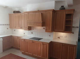 Limed Oak Kitchen Units