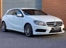Mercedes Benz A Class 1.8 A200 CDI Blue Efficiency AMG Sport Stunning Low Mileage Example in the Best Colour!