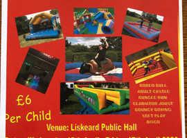 Liskeard Inflatable Party Easter Half Term