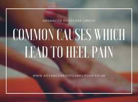 Now, Treat Heel Pain at Advanced Foot Care