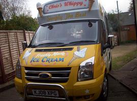 ford transit 2008 ice cream van