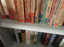 **BOOKS** good offers made for books or book collections!