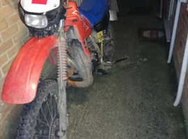 Honda mtx 125 long mot