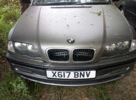 BMW 320, 2000 (X) Silver Saloon, Manual Diesel, 150,000 miles