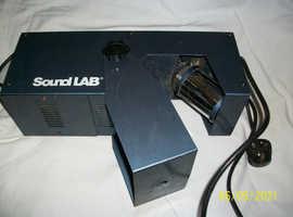 Soundlab Blue lighting effect