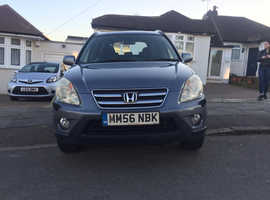 Honda CR-V, 2007 (56) Grey Estate, Manual Petrol, 87,000 miles
