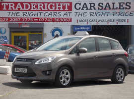 Ford C-Max, 2012 (12) Brown MPV, Manual Petrol, 43,143 miles