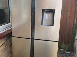 Kenwood American fridge freezer with water dispenser