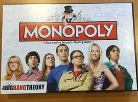 Big Bang Theory Monopoly Board Game Play Family Fun Time from Kids to Adult