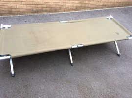 2x Light weight camp beds
