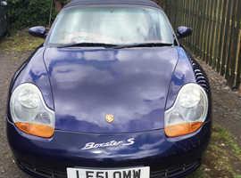 Porsche Boxster, 2001 (51) Blue Convertible, Manual Petrol, 117,000 miles
