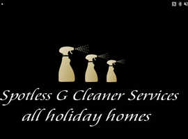 Caravan and Holiday home cleaning service