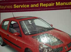 HAYNES WORKSHOP MANUAL RENAULT CLIO
