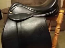 18 inch Black MW Saddle Company