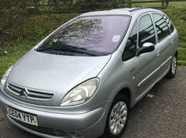 Citroen Xsara Picasso, 2004 (04) Silver Estate, Manual Petrol, 93,884 miles