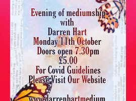 Evening of mediumship with medium Darren Hart