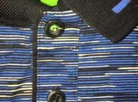 Hugo Boss polo shirt size large.