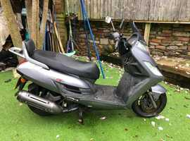 Kymco Yager and Valencia both 125cc