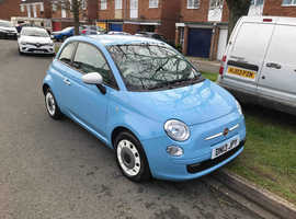 Fiat 500, 2013 (13) Blue Hatchback, Manual Petrol, 23,703 miles