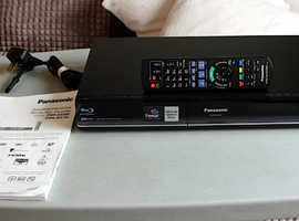 Panasonic Blu-Ray DVD HDD Recorder Twin Freesat HD Tuner