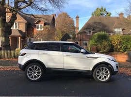 Land Rover Range Rover Evoque, 2012 (12) White Estate, Manual Diesel, 127,301 miles