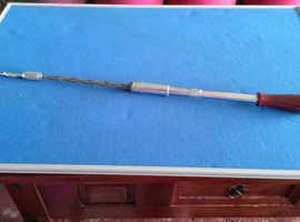 Stanley. Yankee. Long screwdriver. Racket. Very old