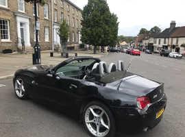 BMW Z SERIES, 2009 (09) Black Convertible, Manual Petrol, 75,000 miles