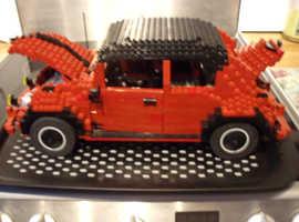 lego custom built beetle 1 off