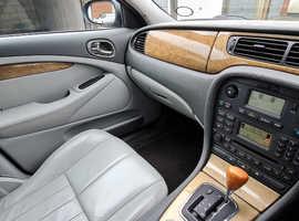Jaguar S-TYPE, 2003 (53) Blue Saloon, Automatic Petrol, 134,166 miles