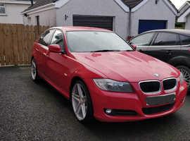 BMW 3 Series, 2011 (60) Red Saloon, Manual Diesel, 123,000 miles