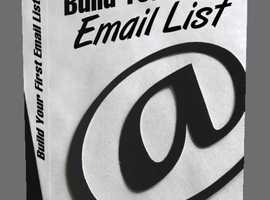 Build Your First Email List