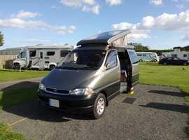 Camper Van Toyota Granvia 1997 low milage 28,243 professional conversion 2010