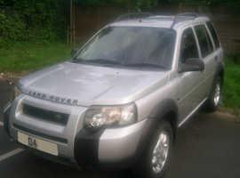 Land Rover Freelander, 2004 (04) Silver Estate, Manual Petrol, 67,000 miles