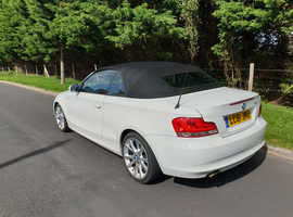 BMW 1 series, Sport, 2011 (61) White Convertible