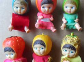 Vintage Fruit Series Mini Figure Baby Dolls
