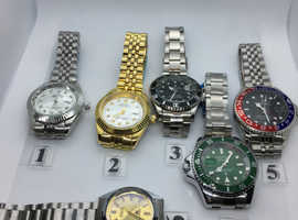 Ladies/gents watches as you can see