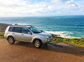 Nissan X-TRAIL, 2006 (06) Silver Estate, Manual Diesel, 129,000 miles