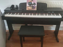 Digital Piano and bench pack gear4music