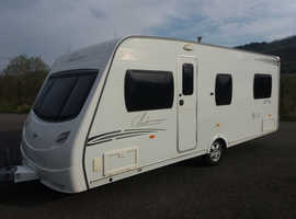 Lunar Clubman 2008 4 berth clean family caravan