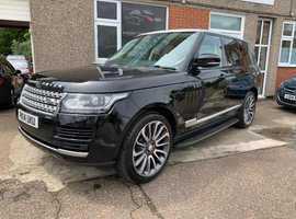 Land Rover Range Rover, 2014 (14) Black Estate, Automatic Diesel, 124,000 miles