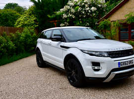 Land Rover Range Rover Evoque, 2012 (62) White Estate, Manual Diesel, 57,000 miles