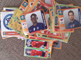 Euro 2020 football stickers to swap and give away for free