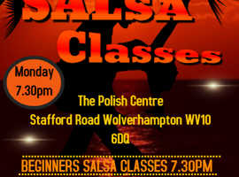 Wolverhampton Beginners salsa clasess