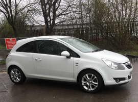 Vauxhall Corsa, 2010 (60) White Hatchback, Manual Petrol, 89,000 miles