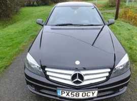 Mercedes CLC-CLASS, 2008 (58) Black Coupe, Automatic Diesel, 135088 miles