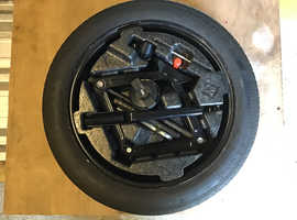 Vauxhall Mokka space saver wheel and tyre with fitting kit,,,