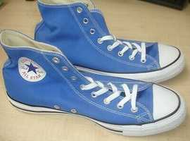 Converse all stars size 12 blue!!