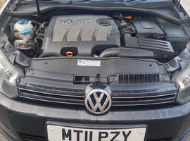 Volkswagen GOLF DIESEL, 2011 (11) Black hatchback, Manual Diesel, 157,000 miles