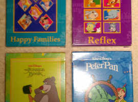 4 Packs Of 'Disney' Picture Card Games