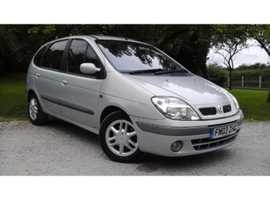 Renault Scenic, 2003 (03) Special Edition, Grey Hatchback, Manual, Petrol, 121201 miles REDUCED FOR QUICK SALE